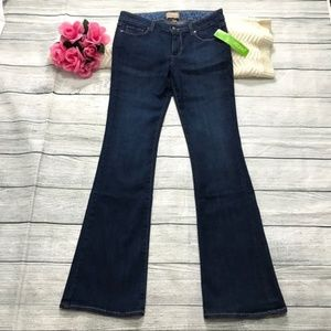 """Paige Holly Petite Boot Cut Jeans Size 28 Ins 32"""""""